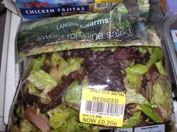 Cheap salad bargain tesco